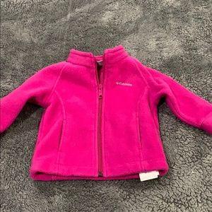Columbia fleece coat